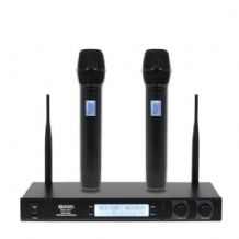 RM 30T Twin UHF Handheld Radio Microphone System (863.1Mhz/864.8Mhz)